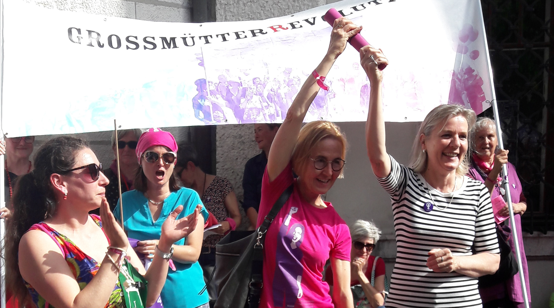 Laura Gantenbein, Susanne Schaffner und Brigit Wyss
